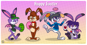Happy Easter 2013 by MeckelFoxStudio