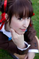 Close up Miaka by white---butterfly
