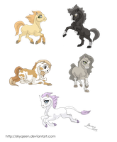 Pony Stickers by MySweetQueen