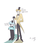 bill cipher's by ohthree