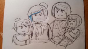 NG family - Coliel (sketch) by Squira130