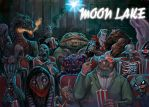 MOON LAKE Cover Painting by RayDillon