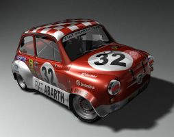FIAT 600 Abarth by kokillo