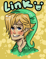 Link why you so Pale?! by Hatsu-Robin