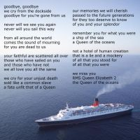 farewell to the QE2 by avarenity