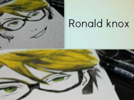 Ronald Knox (progress) by moondrop1XD