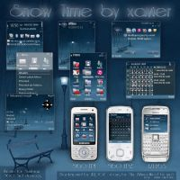 Snow time Symbian theme by Xavier-Themes