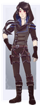 :Comm: outfit for Kain by BlackMayo
