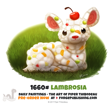 Daily Painting 1660# - Lambrosia by Cryptid-Creations