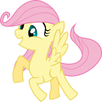 Fluttershy filly by KorakDuHart