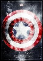Captain America 'The Winter Soldier' by TomGossGraphics