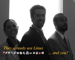 They use Linux by gothian