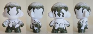 Stippled Mini Munny by bethanydesigns