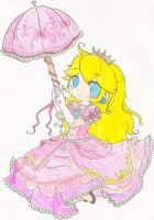 Princess Peach by Aqua-Yagami