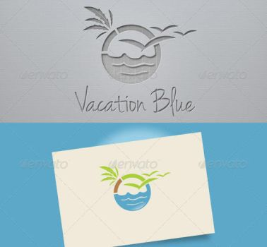 Vacation Blue Logo by etnocad