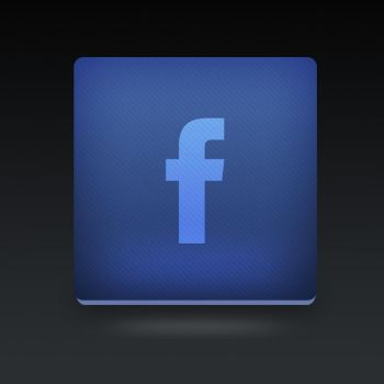 Facebook icon PSD by Martz90