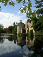 Scotney castle by flameinnight