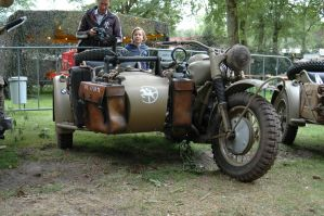 BMW R75 Motorcycle sidecar by BlokkStox
