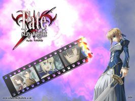 Fate Stay Night Wallpaper by Gary-H
