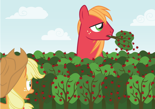 Large Macintosh by Necr0maNc3R