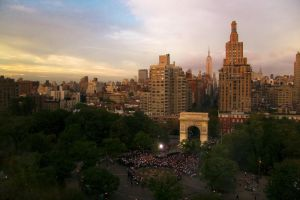 Washington Square Park by A18Braun