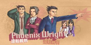 Phoenix Wright by HokkaidoJH