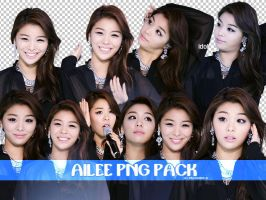 Ailee PNG Pack by PhotoPOP-K