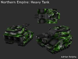 Northern Empire Heavy Tank by DelphaDesign