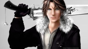 Squall Leonhart by Aameeyur