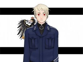 MMD Hetalia model:Prussia by Ash080897