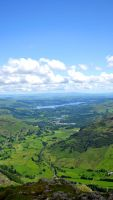 Windermere From Harrison Stickle by MattDeamer