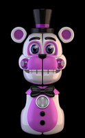Stylised Funtime Freddy (WIP) by Zylae