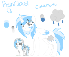 [Ref] RainCloud by KalicoKitty
