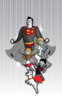 Super family by kungfumonkey