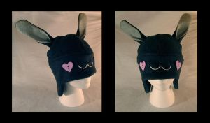 Bunny Hat by NinaKanti