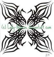 Tribal Tattoo by Lady-Nyneve