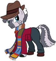 Zecora as the 4th Doctor by SilverMapWolf