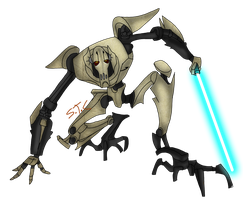General Grievous by Jakethecat
