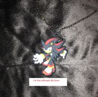 Shadow the Hedgehog keychine by sonicfan40