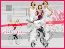 Christina Applegate collage by Owlnuny