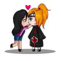 I love you deidara! by Rumay-Chian
