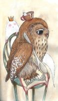 Ghosts, Owls and Tea by Busbi