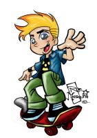 Johnny Test by roemesquita