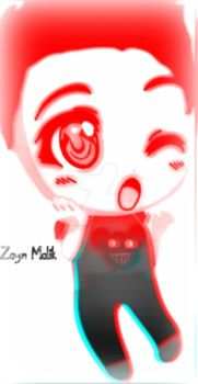 One Direction-Zayn Chibi by IDoomLuvsMJ