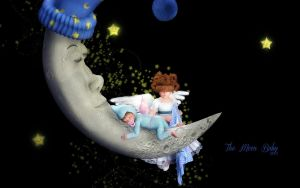 The Moon Baby by Dani3D