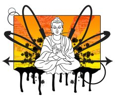 Buddha by MADStudiosGraphics
