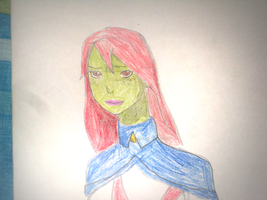 Young Justice : Miss Martian by JackFrost-LCDA