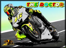 The Doctor ( VR 46 ) by djankrixz