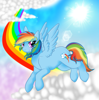 They don't call me Rainbow and Dash for nothing by yeagar