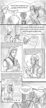 Dragon Age Origins: Banter by pen-gwyn